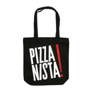 PIZZANISTA BLADE SIGN CANVAS TOTE