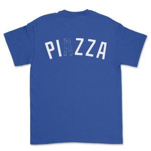 PIZZANISTA! LA DOUGHGERS T-SHIRT BLUE
