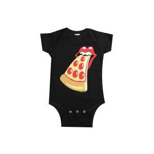 PIZZANISTA! PIZZA TONGUE BABY ONESIE