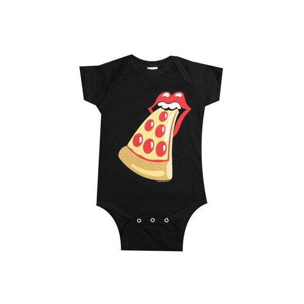 Pizza Tongue Baby Onesie