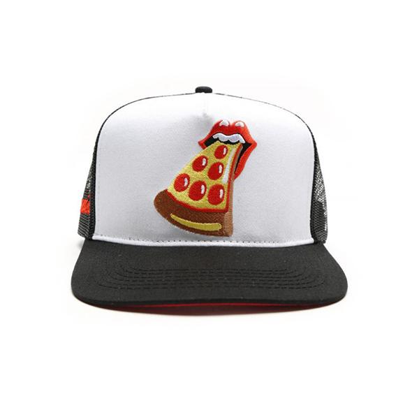 Pizza Tongue Snapback Hat